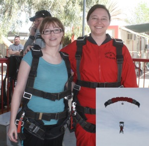 Skydiving Composite